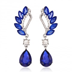fashion blue temperament earring jewelry wholesale Blue