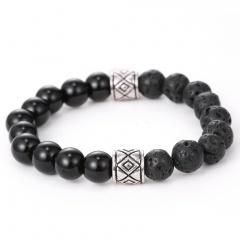Volcanic stone bracelet jewelry wholesale beads
