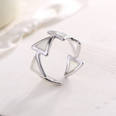 Women Jewelry Glow In The Dark Turtle Butterfly Heart Owl Luminous Ring 7 Silver