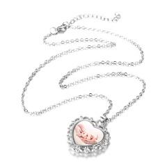 Fashion Heart Pendant Necklace Heart