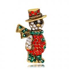 Ancient Christmas Brooch Pin Christmas Brooch