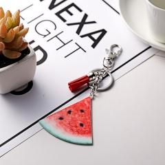 Fashion Fruit Keychain Keyring Jewelry watermelon
