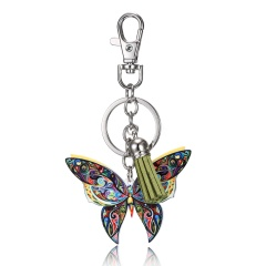 Animal Acrylic Bag Keychain Butterfly