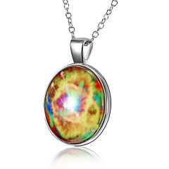 Taurus Time Gem Night Light Necklace 12 Constellation Night Light Necklace Glowing Necklace Taurus