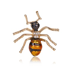 New Natural Ant Animals Jewelry Brooch Pins Insect Brooches For Women Man Costume Brooch Pins Gift ANT2