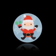 Simple Santa Claus Christmas  Halloween Series Heat Transfer Brooch Santa Claus
