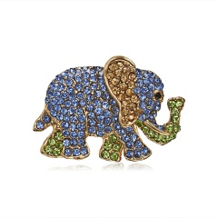 Cute Small Deer Elephant Brooches for Women Bucks Sika Deer Animal Brooch Pin Clothes Accessories Kids Gift Elephant