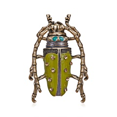 Animal Insects Brooches Enamel Bee Grasshopper Caterpillar Brooch Pins Women Kids Coat Suit Clothes Accessories Insect 4