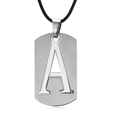 Fashion Stainless Steel Guitar Cross Pendant Mens Punk Necklace Jewelry Dog Tag