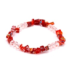 RINHOO Charm Bracelets & Bangles With Glass Crystal Stretch Bracelet Femme for Women Jewelry Personalized Colorful Bracelet Bracelet2