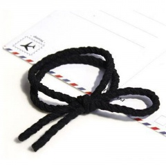 Simple Knotted Hair Band Rope Band Hair Accessories Black