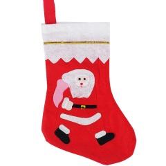 Christmas Stocking Christmas Present Gift Bag White