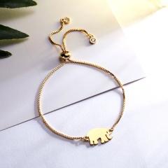 Rhinestone Infinity Bracelet Men Women Jewelry Animal Owl Elephant Horse Dragonfly Gold Charm Bracelet Wedding Banquet Jewelry Bracelet 1