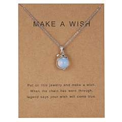 Fashion Women Gold Plated Leaf Circle Pendant Friendship Couple Necklace Jewelry dolphin-white