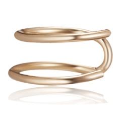 Fashion U-shaped Single Hollow Ear Buckle Ear Clip Women Summer Jewelry Gift golden