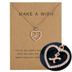 Womens Gold Plated Initial Alphabet Letter V-Z Pendant Chain Necklaces X