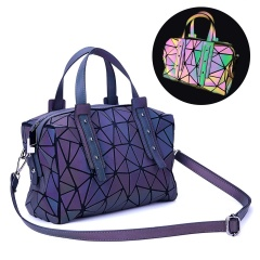 Luminous Hand - held Female Balinger Colourful Color Change One - shoulder Cross-body Pillow Bag Noctilucence