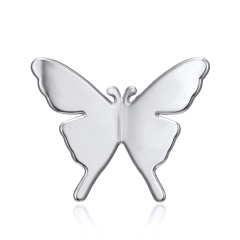 Fashion Gold Silver Brooch Pin Butterfly