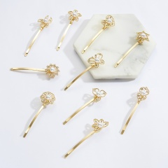 Flower pearl a word clip side clip keeps the sea clip hairpin Starfish