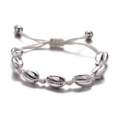 Hand-woven Shell Bracelet Shell 3