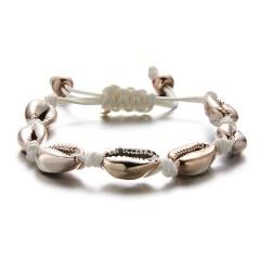 Hand-woven Shell Bracelet Shell 1