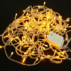 10M 100 LED Fairy Curtain String Light Xmas Christmas Wedding Party Decor Lamp Yellow