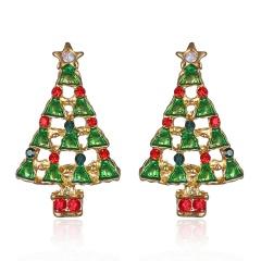 Fashion Christmas Earrings Women Drop Dangle Earrings New Year Jewelry Gift HOT #10