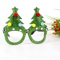 Adult And Children Glasses Frame Christmas Ornament Glasses Tree