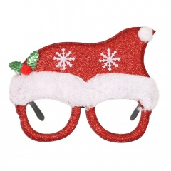 Adult And Children Glasses Frame Christmas Ornament Glasses Hat