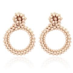 Circular earrings 3