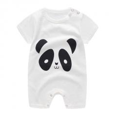 Navy Blue I LOVE MAM Baby Jumpsuit Short Sleeve Romper Short White 59