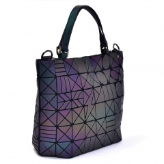 Geometric Laser Bag Luminous Ringer Bag One Shoulder Bag SDK