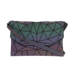 Geometric Crossbody Bag Glow-light Women's Bag Folding Women's Bag 26*17 Irregular triangle style