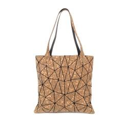 Geometric Rhombic Cork Bag With One Shoulder Irregular triangle