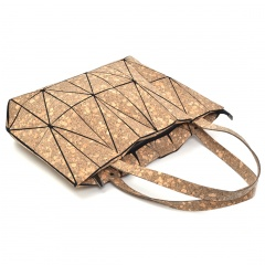Geometric Rhombic Cork Bag With One Shoulder The diamond model