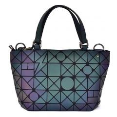 Geometric Ringer Handbag Bucket Pack 33*19*12.5cm The geometric model