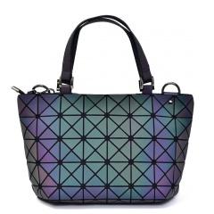 Geometric Ringer Handbag Bucket Pack 33*19*12.5cm The triangle model