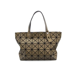 Geometric Rhombus Bags One-Shoulder Handbags42.5*27*11.5cm Brown triangle