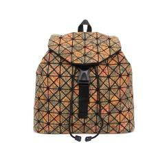 Geometric Ringer Bag Cork Printed Backpack Travel Pack Triangle