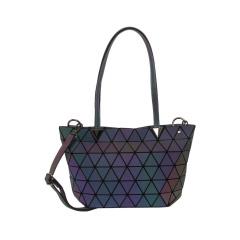 Geometric Ringer Bag Single Shoulder Bag Cross Body Bag 33.5*19*13cm Luminous color