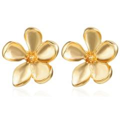 Fashion Vintage Flower Earring Retro Girl's Stud Earring Jewelry Flower