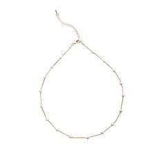 Fashion Gypsophila Pearl Choker Clavicle Chain Necklace Elegant Women Jewellery Charm necklace