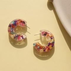 Resin earring 2