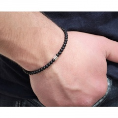New Fashion Beaded Elastic Rope Chain Bracelet Male Charm Jewelry Gift Beads 1