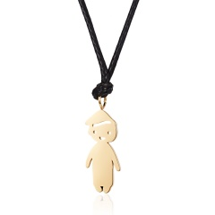 Cartoon stainless steel pendant 2