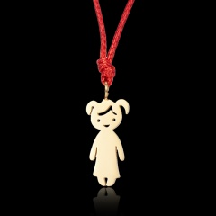 Cartoon stainless steel pendant 1