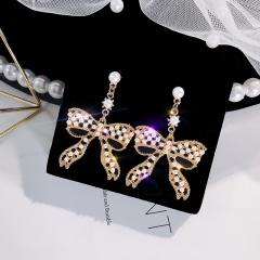 Fashion Crystal Love Long Tassel Earrings ER20Y0408
