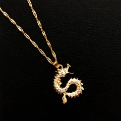 Chinese dragon neck necklace Dragon