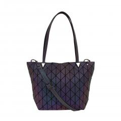 Geometric Ringer Bag One Shoulder Bag Cross Body Bag37*25*13cm Can change color