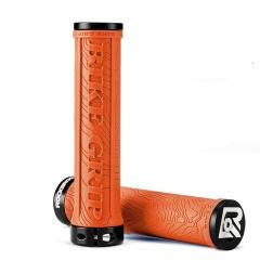 Mountain Bike Aluminum Alloy Handlebar Cover Anti-Skid Riding Equipment Accessories Orange